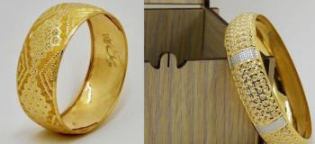 ۵۲ مدل تکپوش طلا | تکدست طلا در مدلهای جدید و شیک