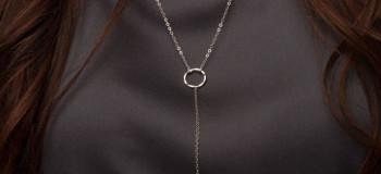 گردنبند زنانه : مدل های جدید گردنبند ظریف زنانه و دخترانه