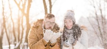 عکس های باکیفیت عاشقانه برفی برای پروفایل (۱۳۹۸)