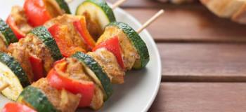 کباب سبزیجات : کباب مخصوص گیاه خواران و افراد رژیمی