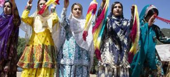 گزارش تصویری از مراسم عروسی بختیاری ها در شهرکرد