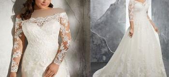 لباس عروس مناسب خانم های چاق