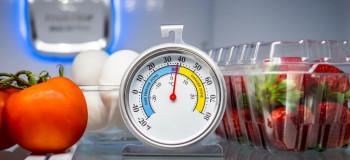 بهترین دمای یخچال برای تازه ماندن غذا