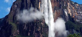 آبشار زیبای آنجل (آنخل) بزرگترین آبشار جهان در ونزوئلا