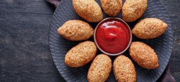 طرز تهیه کوبه مرغ به روش عربی