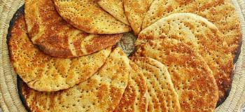 طرز تهیه نان گرده بوشهری به روش اصیل