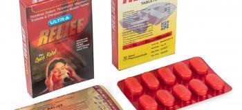 آشنایی با قرص مسکن ریلایف (relief) + عوارض جانبی این دارو