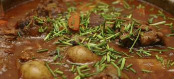 دستور پخت خورش سیب سولقانی با گوشت ماهیچه