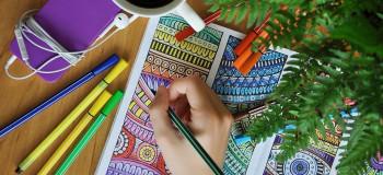 فواید رنگ آمیزی ماندالا برای سلامت ذهن