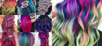 رنگ مو فانتزی ۲۰۲۰ دخترانه و زنانه جدید با عکس ژورنالی شیک