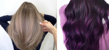 رنگ مو تیره ۹۹ جدید و بسیار شیک برای مهمانیها و مراسم