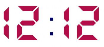 ساعت ۱۲:۱۲ به چه معناست ؟