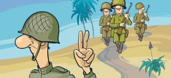 ۳۰ متن بسیار زیبا و احساسی تبریک روز سرباز به برادر