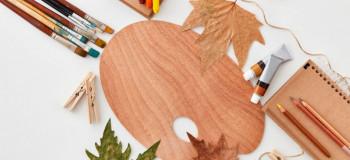 کاردستی با برگ : ۲۰ کاردستی شیک و لاکچری با برگ های سبز و زرد