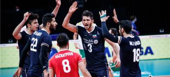 ساعت بازی والیبال ایران و امریکا امشب ۱۹ خرداد
