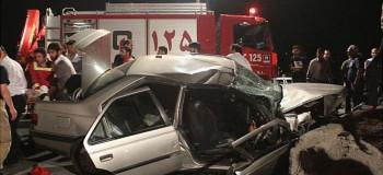 ۶ کشته و زخمی در تصادف جاده مشهد کاشان