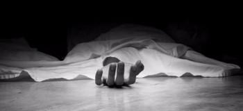 مرد سنگدل همسرش را خفه کرد و متواری شد