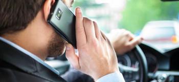 جریمه ۱۱۰ هزارتومانی برای استفاده از تلفن همراه حین رانندگی