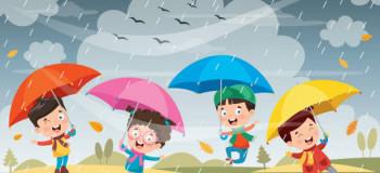 شعر کودکانه باران | قشنگ ترین شعرهای کودکانه در مورد باران
