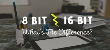 تفاوت ۸ بیت و ۱۶ بیت در فتوشاپ همراه با فیلم آموزشی