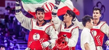 ۱۰ آهنگ به مناسبت قهرمانی تیم ملی تکواندو ایران