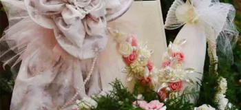 جدیدترین مدل های تزیین چادر عروس