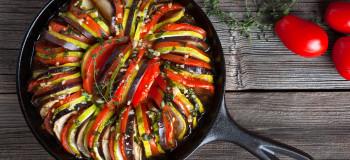طرز تهیه ۴ مدل راتاتویی فرانسوی غذای سالم و کم کالری