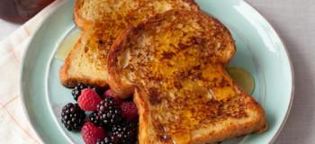 طرز تهیه نان تست فرانسوی صبحانه ای مقوی و سالم