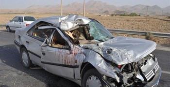 18 کشته و زخمی در پی واژگونی خودرو 405 در جهرم