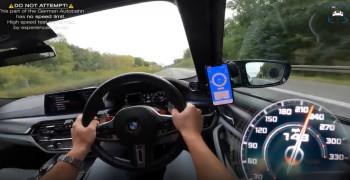 تست سرعت و شتاب از BMW M5