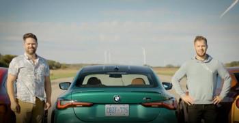 درگ بین آئودی RS5، ب ام و M4 و نیسان GT-R