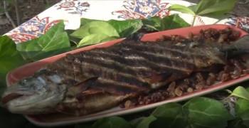 آموزش طرز تهیه ماهی کبابی