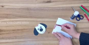 ساخت کاردستی سه بعدی سگ