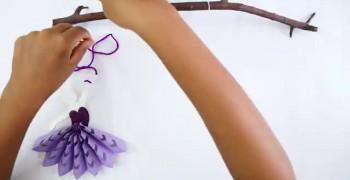 آموزش درست کردن عروسک کاغذی