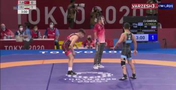 برد رضا اطری مقابل ترکیه المپیک توکیو 2020