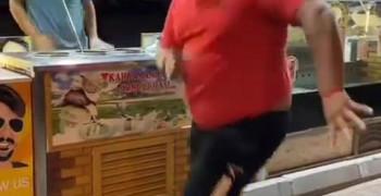 کلیپ رقص بستنی فروش ترک