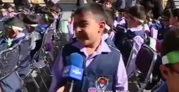 کلیپ خنده دار روز اول مدرسه حیاط خوبه