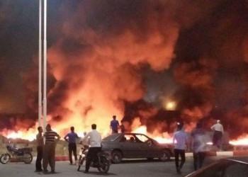 فیلم حادثه سوختن مسافران اتوبوس سنندج به تهران (+18)