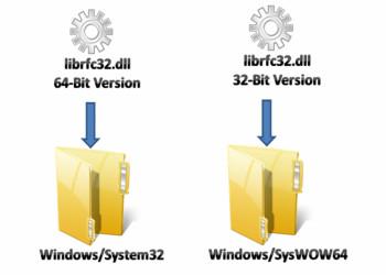 تفاوت بین  پوشه های System32 و SysWowo64 در سیستم عامل ویندوز چیست؟