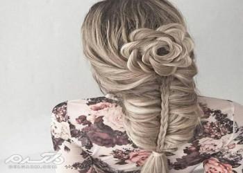 مدل بافت مو جدید 2018 با طرح های مجلسی برای دختر خانم های باسلیقه ( 30 عکس )