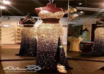 مدل لباس مجلسی بلند 2018 مخصوص خانم های خوش اندام و باکلاس ( 40 عکس )
