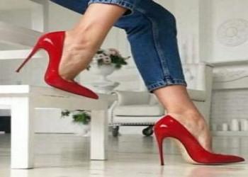 جدیدترین کفش مجلسی رنگ قرمز 2018 زنانه و دخترانه +  تصویر