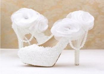مدل کفش عروس توری فوق العاده شیک - سری اول سال 2018