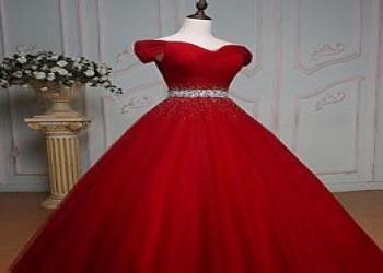 ژورنال انواع مدل لباس نامزدی بلند قرمز رنگ جدید - سری اول سال 2018