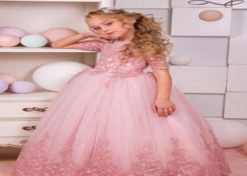 جدیدترین لباس مجلسی دخترانه پرنسسی مناسب برای ساقدوش عروس - سری دوم