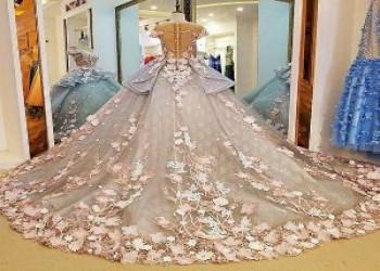 لباس نامزدی پرنسسی - انواع مدلهای لباس نامزدی متنوع ( سری دوم - سال 2018 )
