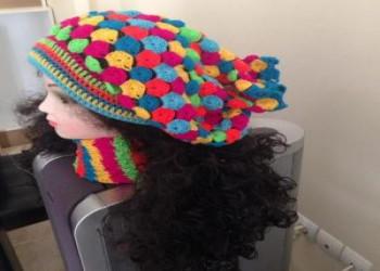 مدل کلاه بافتنی دخترانه با انواع طرح های شیک و جذاب ( سری سوم - زمستان 97 )