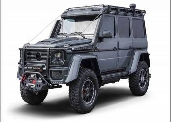 خودروی برابوس Adventure 4x4² معرفی شد