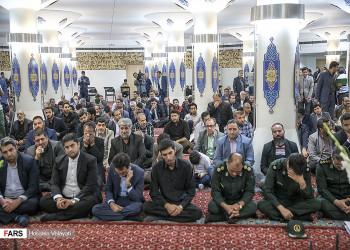 تصاویر مراسم اربعین شهدای حادثه تروریستی مجلس شورای اسلامی