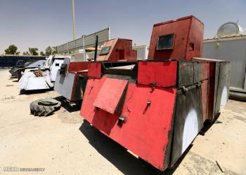 تصاویر خودروهای زرهی ساخت داعش